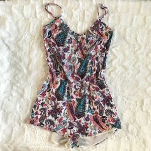 American Eagle Outfitters Romper Elastic Waist S